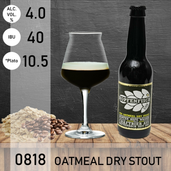 0818 Oatmeal Dry Stout